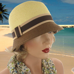 e7a0d54f43 Twenties 1920 Crushable Ladies hat
