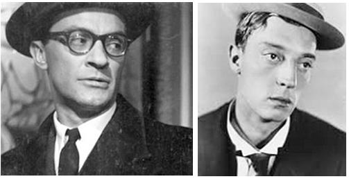 Ντίνος Ηλιόπουλος Buster Keaton