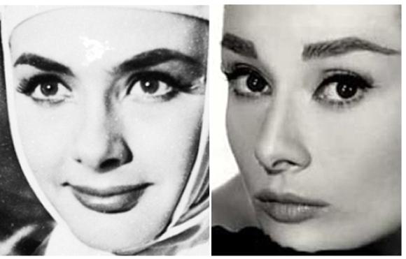 Ξένια  Καλογεροπούλου                        Audrey Hepburn