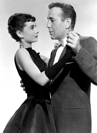 Humphrey Bogart , Audrey Hepburn in Sabrina