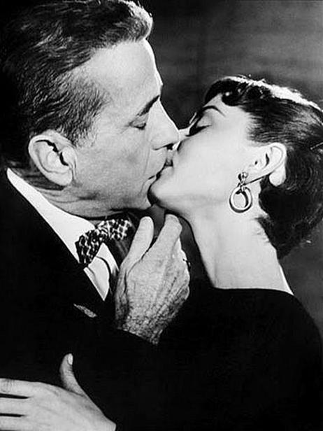 Humphrey Bogart , Audrey Hepburn in Sabrina (again)