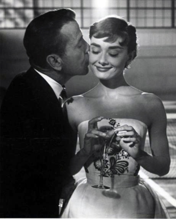 Humphrey Bogart , Audrey Hepburn in Sabrina (again and again)