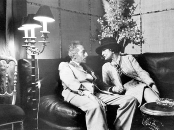 Jean Cocteau and Coco Chanel