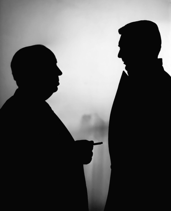 Cary Grant & Alfred Hitchcock