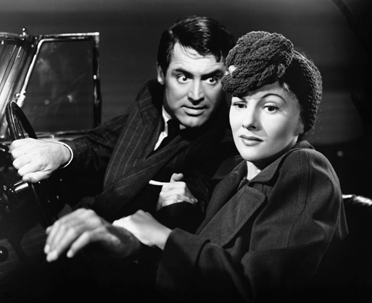 Suspicion 1941 Cary Grant, Joan Fontaine, Directed by Alfred Hitchcock
