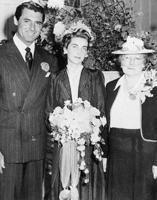 Barbara Hutton and Cary Grant Wedding