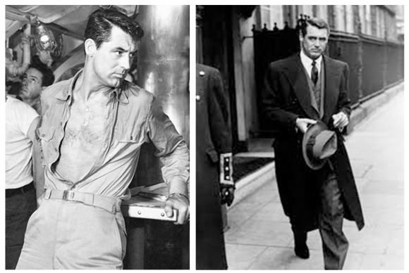 Destination Tokyo (1943) Starring: Cary GrantCary Grant wore suits in a beautifully debonair manner.