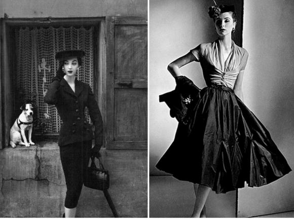 1950   Βalenciaga                                                           1950 Dior
