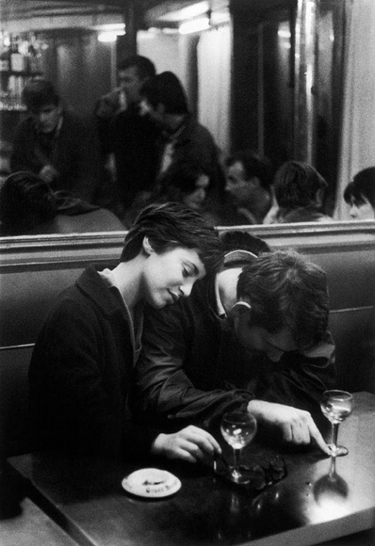 Couple  a  La Methode  cafe, 1960
