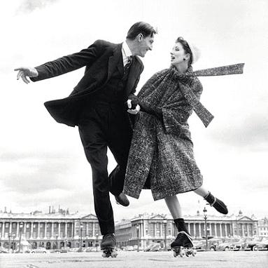Suzy Parker (in Dior) Paris 1956 photo Richard Avedon